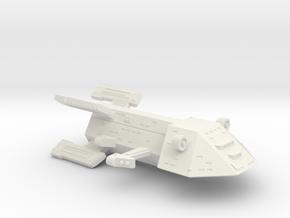 3788 Scale Kzinti New Command Cruiser (NCC) SRZ in White Natural Versatile Plastic