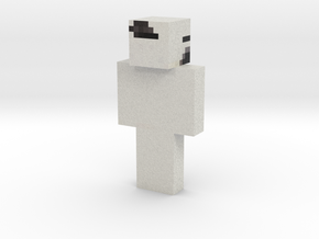 MCPE skin | Minecraft toy in Natural Full Color Sandstone