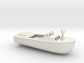 1/128 Scale 36 ft LCP(L) Mk 2 USN in White Natural Versatile Plastic