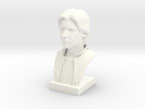 Han Solo Statue in White Processed Versatile Plastic