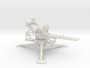 1/35 IJN Type 93 13mm Tripod Twin Mount in White Natural Versatile Plastic