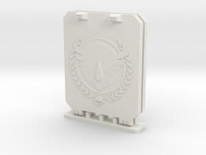 Bran Del Sangre Light Tank Doors Command Style in White Natural Versatile Plastic