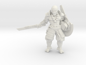 Greater Good Shield Master2.0 in White Natural Versatile Plastic: 28mm