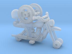 1-87 Scale Junkyard 50cc Minibike in Smoothest Fine Detail Plastic