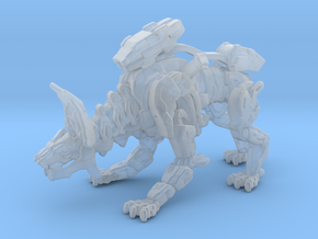 Mech Wolf 1/60 miniature for games and rpg scifi in Smooth Fine Detail Plastic
