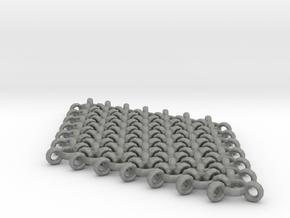 Interlinked Wave Single Pendant Earring in Gray PA12