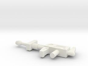 TFtM Prowl Rifle in White Natural Versatile Plastic