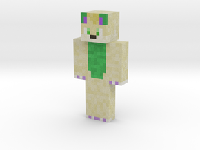 JamesWuff | Minecraft toy in Natural Full Color Sandstone