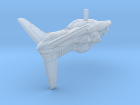 Arrowhead Corvette upside down in Smooth Fine Detail Plastic
