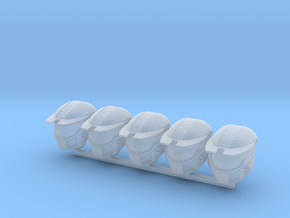 WH40k scale -  Halo MK4 Helmets in Smoothest Fine Detail Plastic: Small