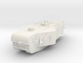 K-Wagen Tank 1/72 in White Natural Versatile Plastic