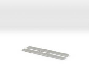 H0-Tritte für Lima- und Jouef Eilzugwagen in Smooth Fine Detail Plastic