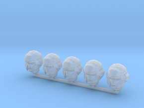 WH40k scale - Halo 4 Marine Helmets in Smoothest Fine Detail Plastic