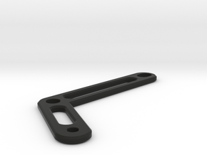 "brake oil reservoir bracket ""Classic "" mt-07 fz-07 in Black Natural Versatile Plastic"