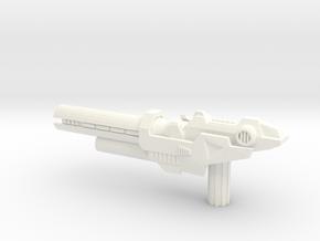 TFP: Optimus Prime Deluxe Blaster in White Processed Versatile Plastic