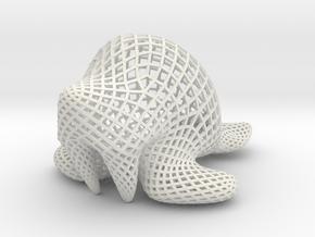 Walrus - bigdiagonal in White Natural Versatile Plastic