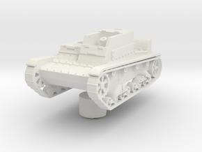 T-26 MXT-1  1:87 in White Natural Versatile Plastic