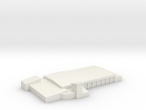 Fire Station at Wright-Patterson Air Force Base in White Natural Versatile Plastic