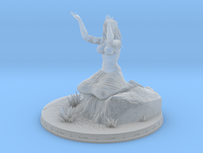 Fire Keeper Dark Souls in Smooth Fine Detail Plastic