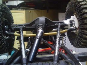Knuckle C-Hub SCX 8° for BTA in White Natural Versatile Plastic