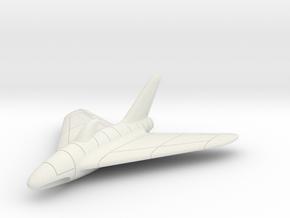 (1:72) Lippisch P.15 'Shark Fin Canopy'  in White Natural Versatile Plastic