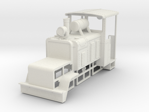 b-43-14-baldwin-50hp-loco in White Natural Versatile Plastic