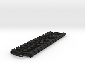 OO NEM Dummy Knuckle Coupling (Large) x26 in Black Natural Versatile Plastic