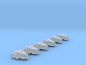 Omni Scale Seltorian Administrative Shuttlecraft  in Smooth Fine Detail Plastic