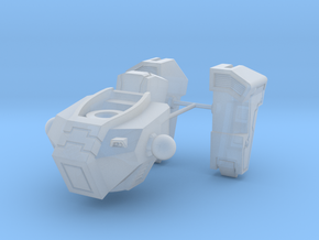 Sloped Armor Torso Assembly in Smooth Fine Detail Plastic
