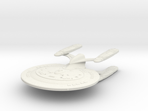 "Cheyenne Class Refit Cruiser 5.1"" in White Natural Versatile Plastic"