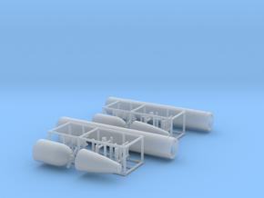 1/72 DKM G7 torpedo (21 in) KIT 2 in Smooth Fine Detail Plastic