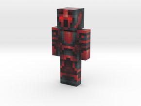 Red_knight | Minecraft toy in Natural Full Color Sandstone