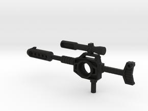 G1 Autobot Blaster, Blaster's Blaster in Black Natural Versatile Plastic