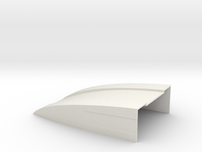 120x80x30 Deflektor for Bruder Sprinter BF3 in White Natural Versatile Plastic
