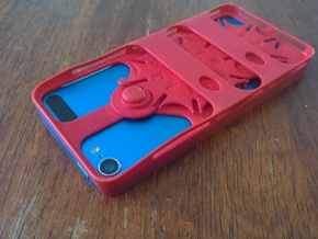Gear Counter Case for iPod Touch 5 in Red Processed Versatile Plastic