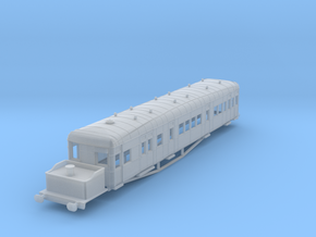 o-152fs-gsr-clayton-steam-railcar-scheme-A in Smooth Fine Detail Plastic
