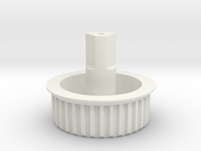 Beater-brush Drive Gear for Dyson DC25 in White Natural Versatile Plastic