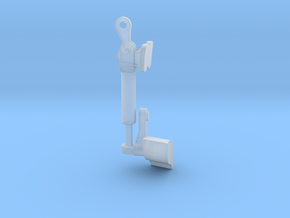 Front-Right-Latch in Smooth Fine Detail Plastic
