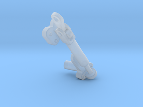 Rear-Left-Latch in Smooth Fine Detail Plastic