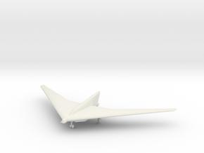 1/144 Horten XVIII B-2 in White Natural Versatile Plastic