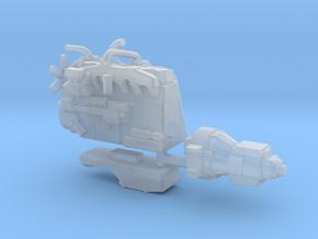 1/64th Diesel Truck Engine #1 in Smooth Fine Detail Plastic