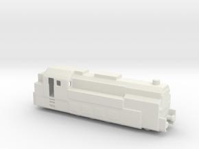 PANZERZUG 93 1/285 6mm in White Natural Versatile Plastic