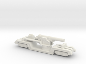 BL 12 inch howitzer Mk v 1/285 6mm  in White Natural Versatile Plastic