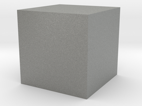 Cube in Gray PA12