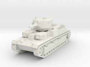 T-28 late 1/100 in White Natural Versatile Plastic