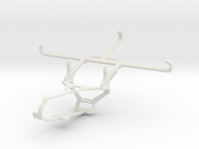 Controller mount for Steam & Coolpad Cool 5 - Fron in White Natural Versatile Plastic