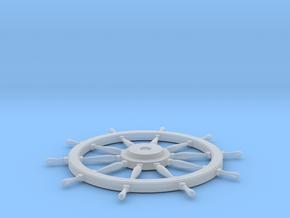 1/48 Ship's Wheel 30mm diameter in Smooth Fine Detail Plastic