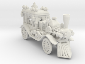 Hell Hearse 160 Scale in White Natural Versatile Plastic