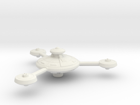 Omni Scale Federation Battle Station WEM in White Natural Versatile Plastic