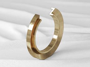 Z Ring in Natural Bronze: 6 / 51.5